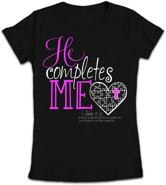 Junior T - He Completes Me