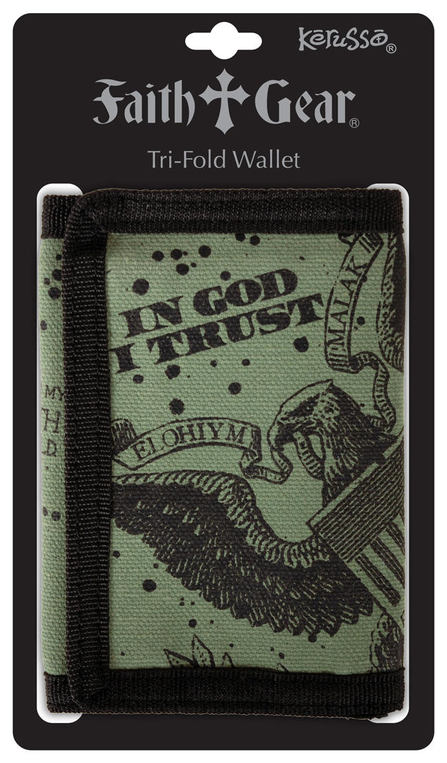 Guy's Wallet - God I Trust
