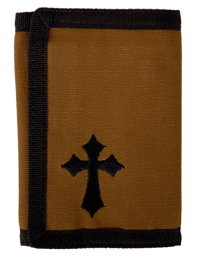 Guy's Wallet - Brown Cross