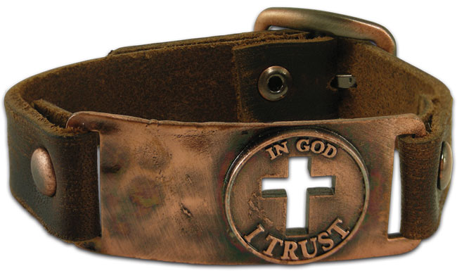 Faith Gear Bracelet - In God I Trust