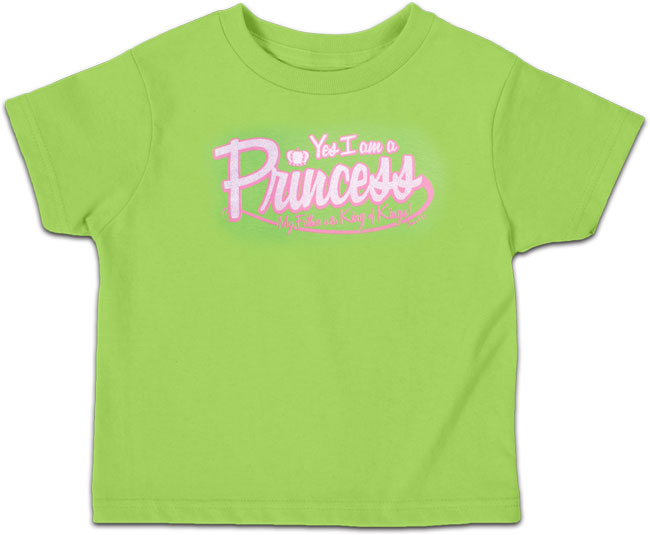 Toddler T - Princess